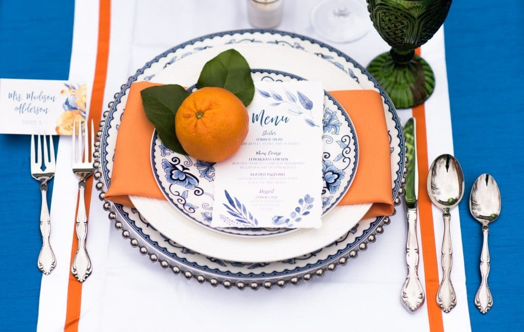 fruit wedding details