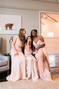 bridesmaids wedding video