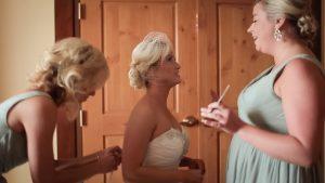wedding day friends