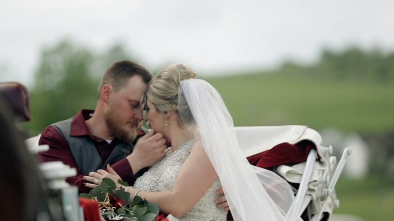 Caitlin + Tyler   An Upscale Country Wedding at the 4T Arena   Bridgeport WV