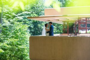 falling water wedding video