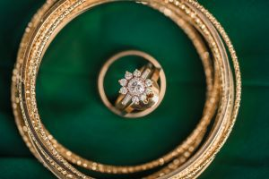 emerald wedding colors