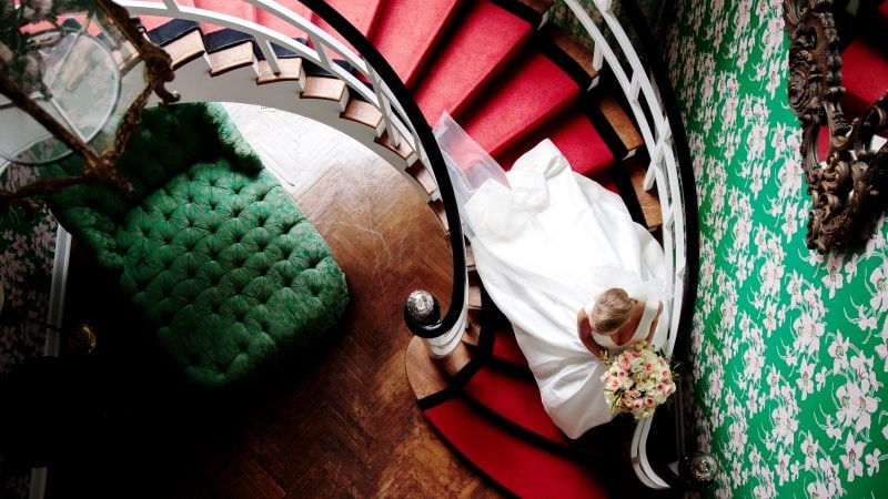 Caroline + Wyatt | A Fall Wedding at The Greenbrier Resort