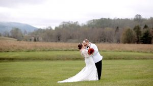 canaan valley wedding, wv wedding, groom with white tux