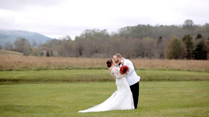 Markee + Aaron | A Fall Wedding at Canaan Valley Resort.