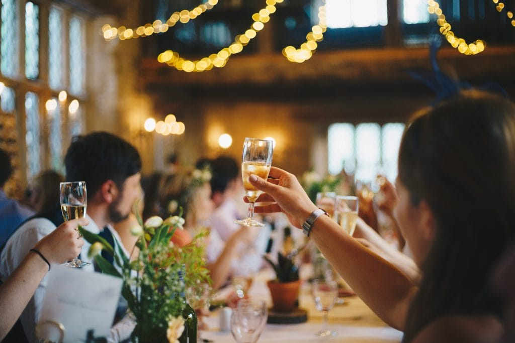 wedding video payment plan, wedding video toasts
