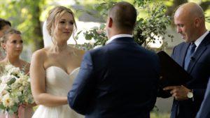 pittsburgh pa backyard wedding ceremony video
