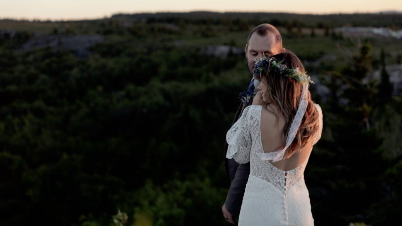 Jackie and Nick | An Elopement at Bear Rocks | WV Wedding Video