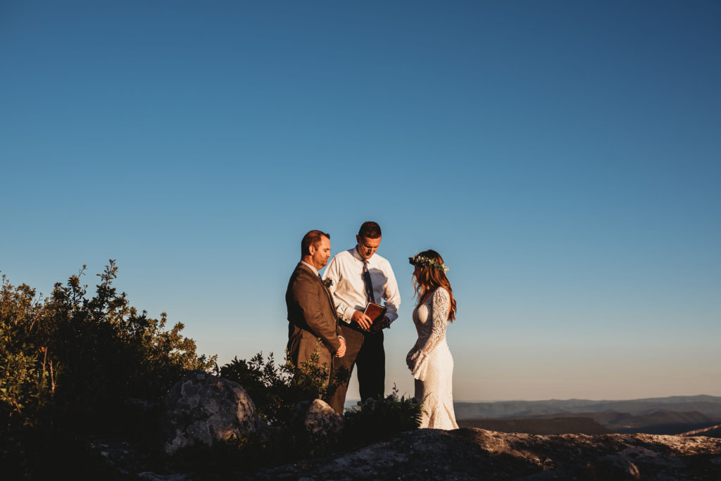 bear rocks wv elopement video