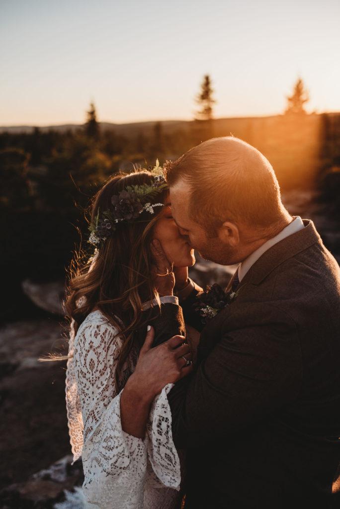 bear rocks elopement wv video wedding